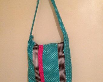 Alexandra Book Bag (with zipper fastening)