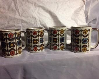 Vintage japanese coffee mugs