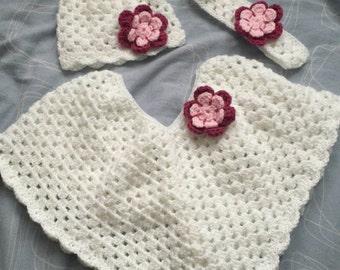 Crochet girl set