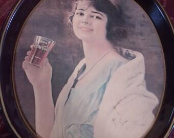 Vintage Coca Cola Serving Tray