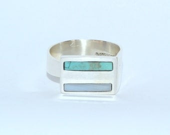 Sterling Silver adjustable Ring Skyline