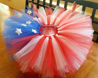 baby tutu, patriotic tutu, 4th of July tutu, baby girl tutu, patriotic baby tutu., 4th of July  baby tutu, Red white blue tutu