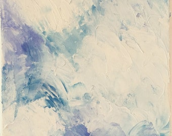 Abstract clouds   Original oil painting
