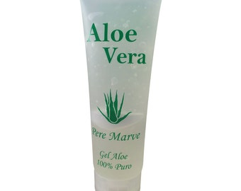 Aloe Vera 100% pure gel, 250 ml.