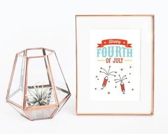 Fourth of July | printable 4th of July decor | 4th of July party decor | July 4th party decorations | instant download