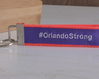 Orlando Strong Initial Key Fob
