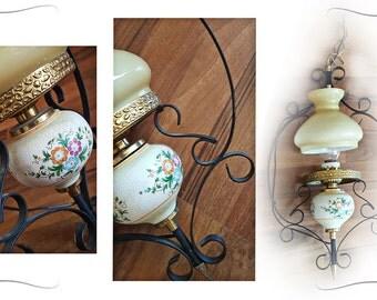 Chandelier light, hanging lamp vintage