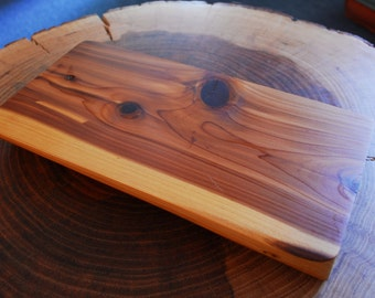 Cedar cheese board