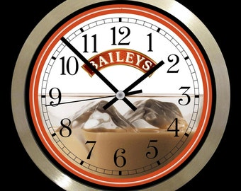 Baileys large wall clock