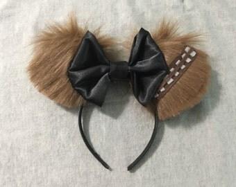 Chewbacca Inspired Disney Ears