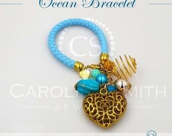 Ocean Bracelet by Carolina Smith Jewelry
