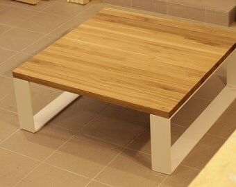 Hand made oak coffee table