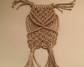 Smal macrame owl - 2