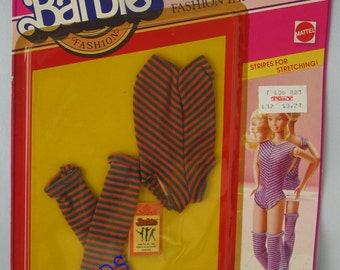 Stripes for Stretching Clothes for Barbie