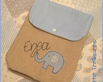 Custom linen cotton nappy