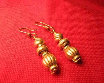 Ethiopian Silver Earrings