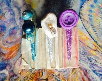 fairy tokens of love (hair clips)