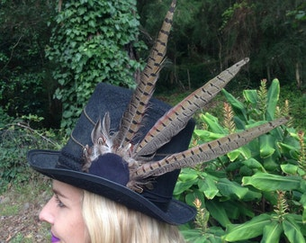 Feather Headpiece / Hat band