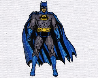Dark and Brooding Batman Embroidery Design