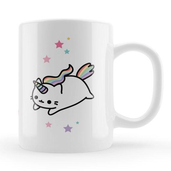 Caticorn Mug kawaii cute caticorn gift cat unicorn unique