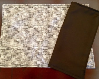 Set of 4 Place Mats & Napkins