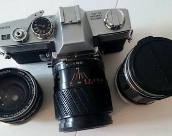 SALE! 25% OFF! Minolta SRT 101 camera lovers collectible