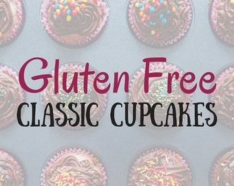 Gluten Free Cupcakes in a Jar, Classic Flavors