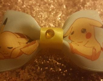 Cute Pikachu Hairbow