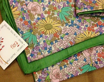 Floral Scarf: Spring flowers
