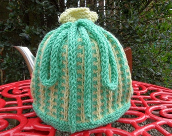 Hand Knitted Tea Cosy For 2 pint Pot