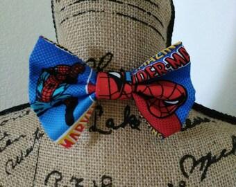 Kids Superhero Spiderman Bowtie