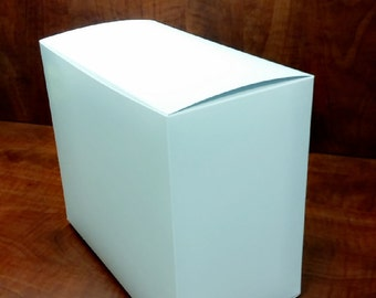 "3"" x 2"" x 3"" White or Brown Boxes, Retail Packaging, Jewelry Boxes, Retail Supply"
