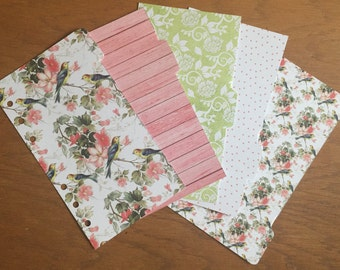 REDUCED Floral and Lime Dividers