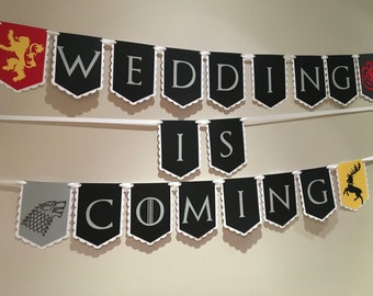 Game of Thrones Wedding Is Coming  Banner
