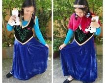 Anna costume- (adult)
