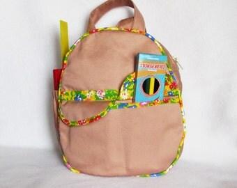 Backpack pattern+instruction. Adventure Time Backpack, kids  backpacks, small backpacks for children, for boys and girls. Backpack PDF