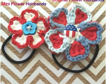 Mini Flower Hairbands