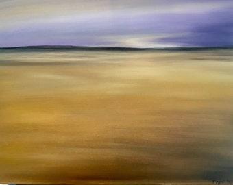 Abstract Desert Sunset