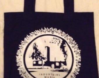 INDUSTRIAL MUSIC -tote bag