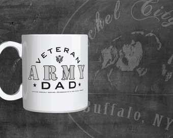 Army Dad 11 oz. Mug