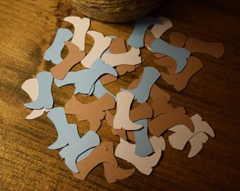 Cowboy Boot Confetti, Country Confetti, Baby Shower Decorations, Cowboy Birthday Party, Country Wedding Decorations, Baby Shower Confetti