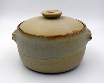 Personal Casserole - handmade casserole - wheel-thrown Casserole