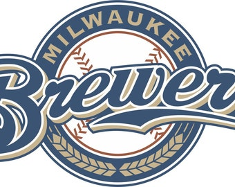 Milwaukee Brewers Decal/Sticker