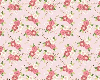 Riley Blake Wonderland Floral fabric by the yard