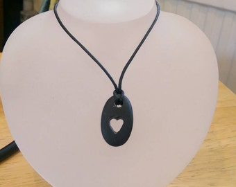 Your heart on a string necklace