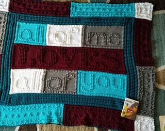 All of me crocheted blanket