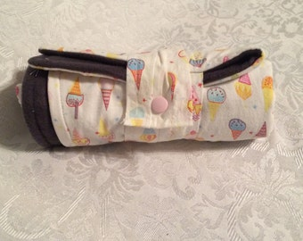 Ice Cream Cone Baby Diaper Changing Pads!