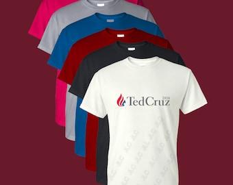 Ted Cruz 2016 Short Sleeve T-Shirt (Sizes S-4XL)