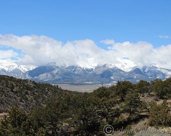 Rocky Mountains.  I took this photo Driving through Colorado