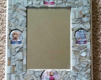 Frozen Mosaic Mirror